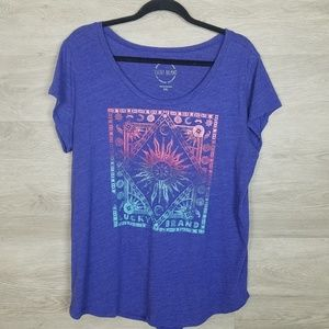 Lucky brand graphic tee Size XXL